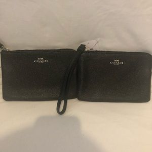 Coach wristlets - set of 2 NWT
